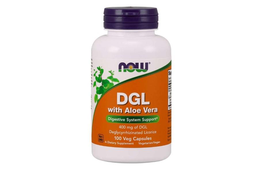 Zdjęcie opakowania suplementu diety DGL.