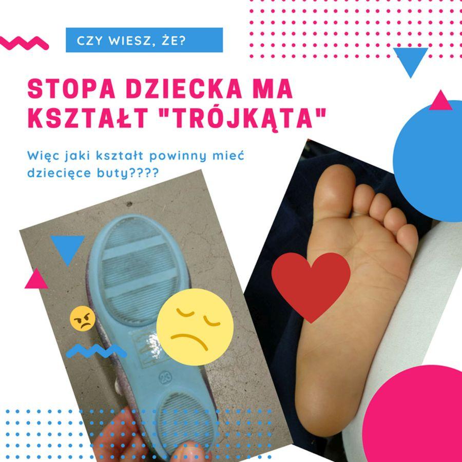 Buty dla maluchów o odpowiednim kształcie - Sklep z butami dla malucha Bosa Stópka