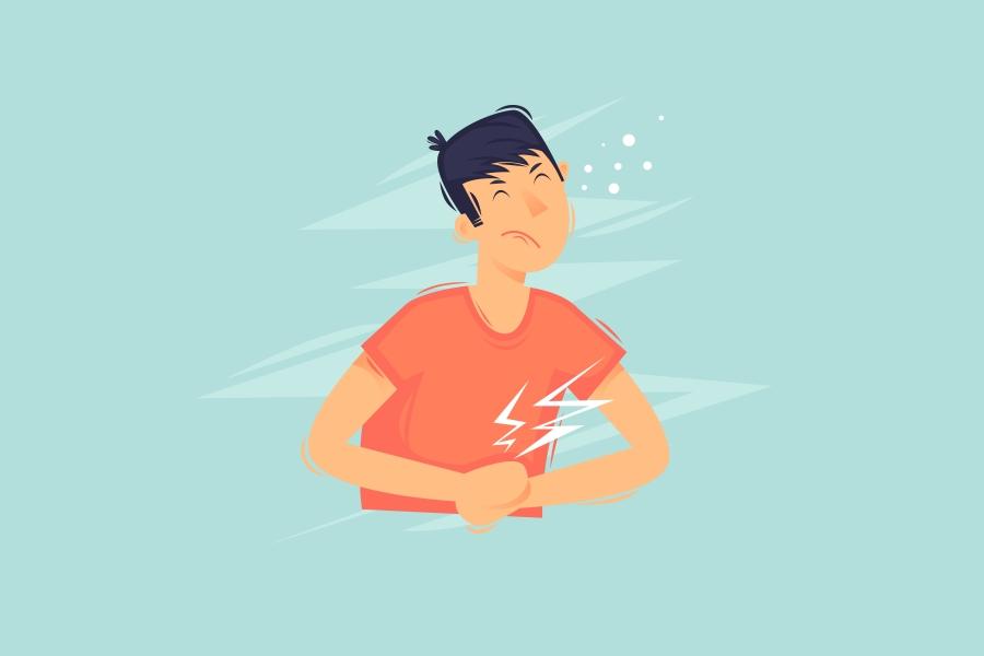Co oznacza ból brzucha?
