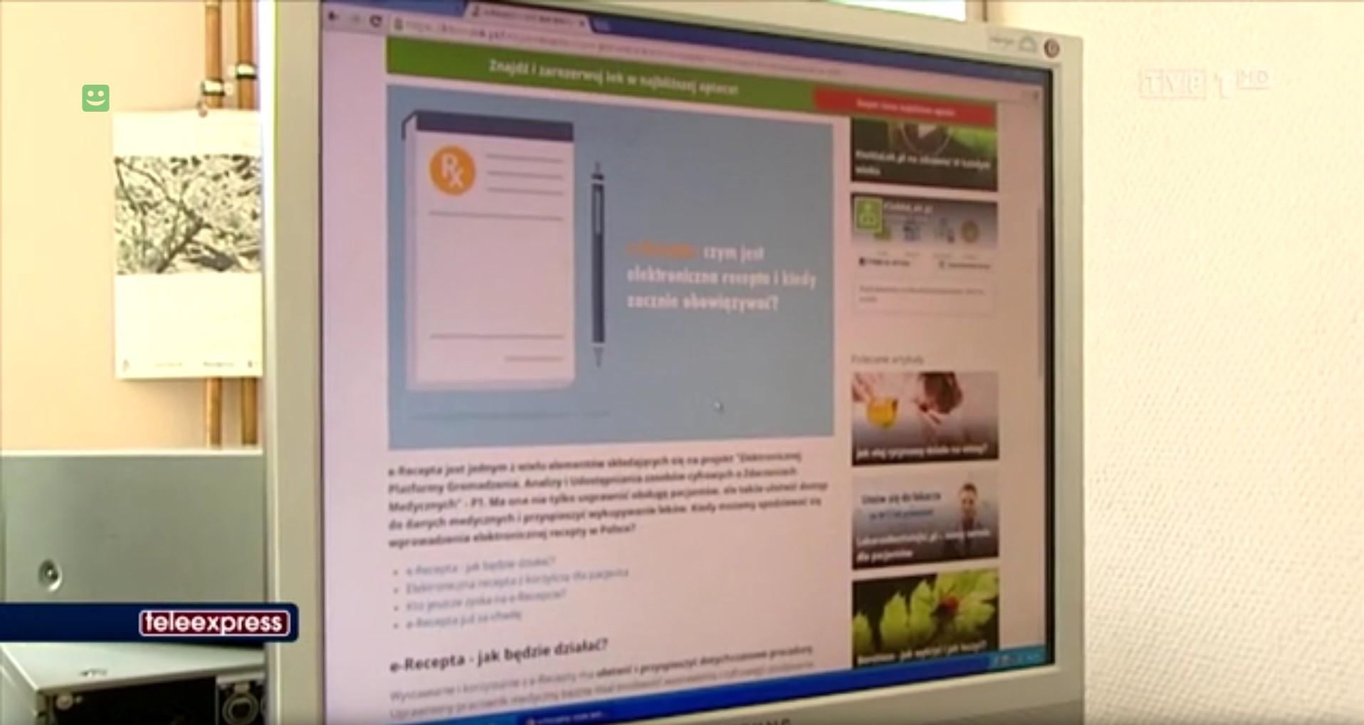 e-recepta w teleexpressie