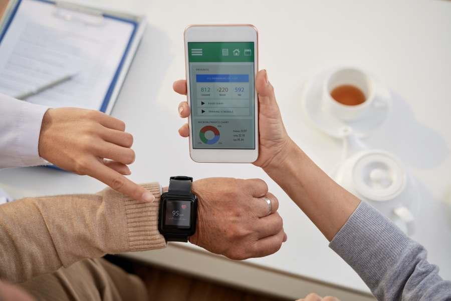 gadżety zdrowotne zegarek