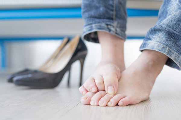 swędzące stopy z powodu grzybicy