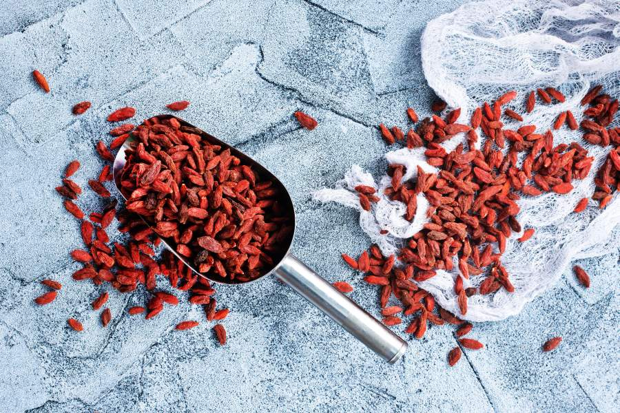 Jogody goji - superfood