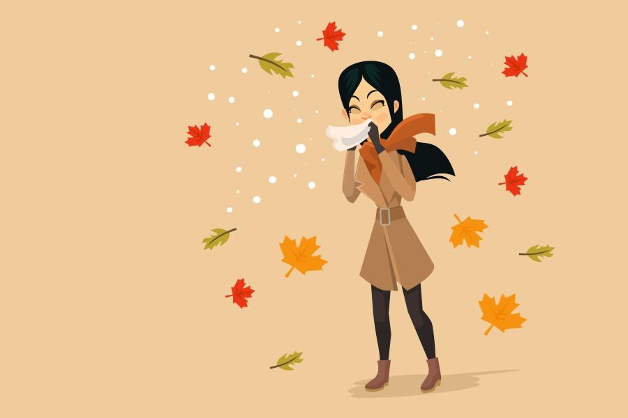 Kalendarz alergika: co pyli w październiku?