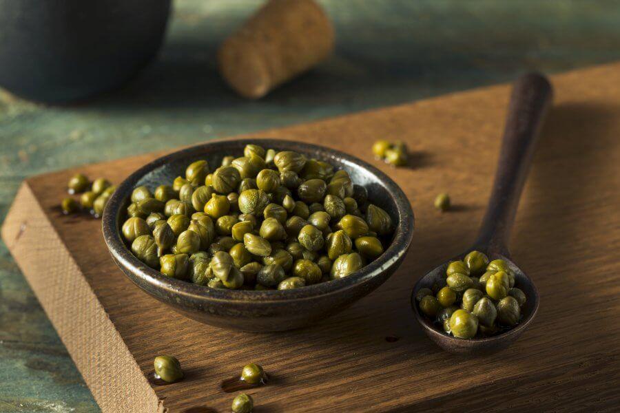 Kapary – witaminy i właściwości odżywcze.