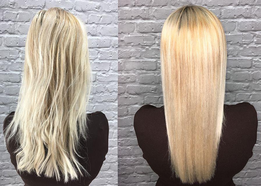 Keratynowe prostowanie włosów w zaciszu domowym