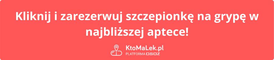 KtoMaLek.pl szczepienie przycisk