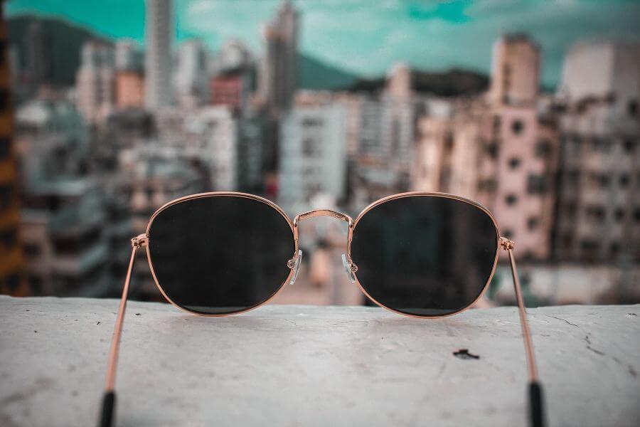 okulary przeciwsłoneczne główne
