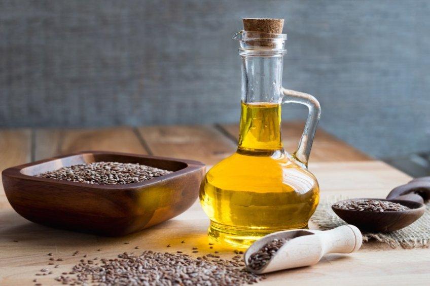 Olej lniany - pij na zdrowie!