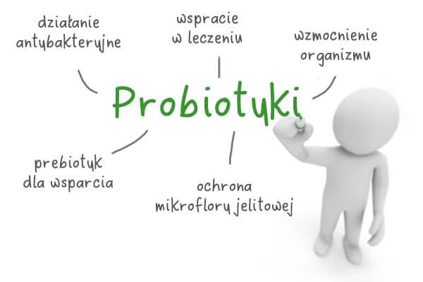 probiotyk a prebiotyk