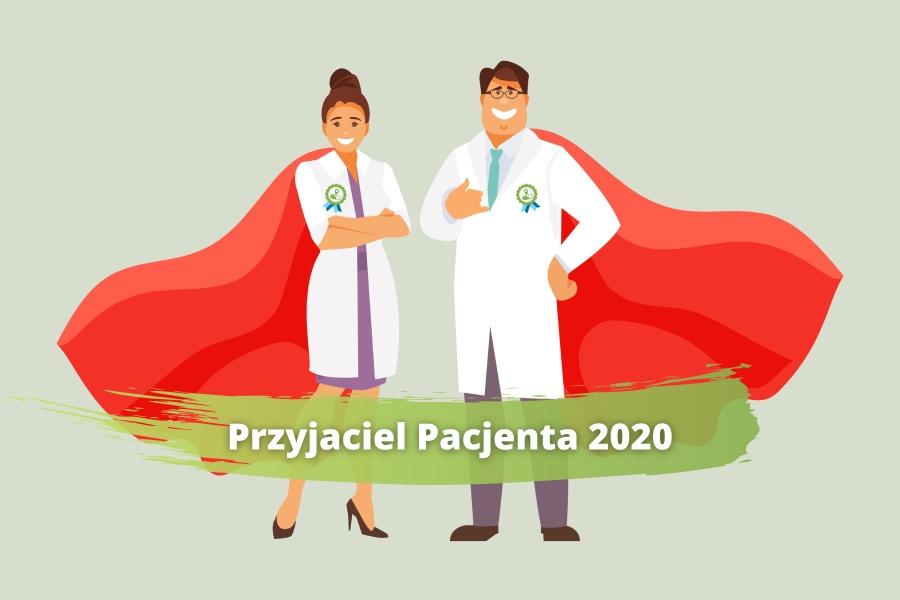 Przyjaciel Pacjenta roku 2020