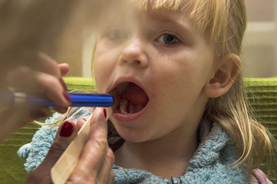 szkarlatyna u dziecka