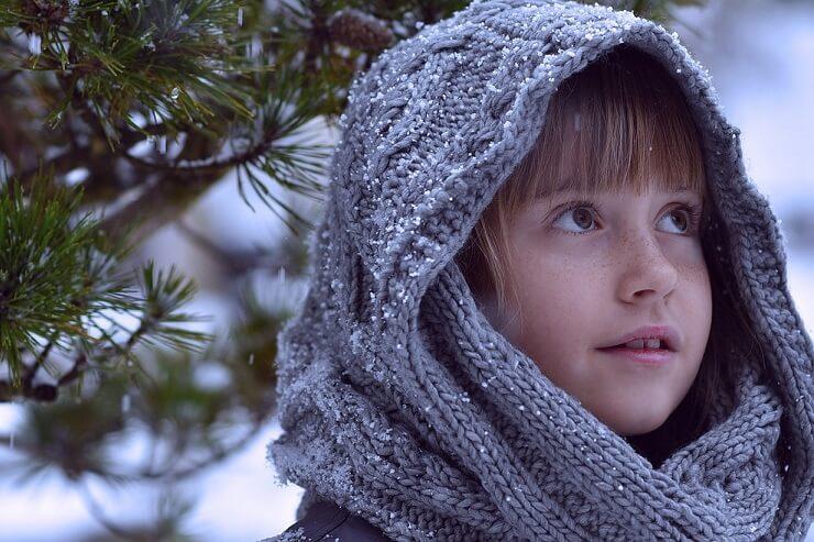 zima a odporność u dzieci