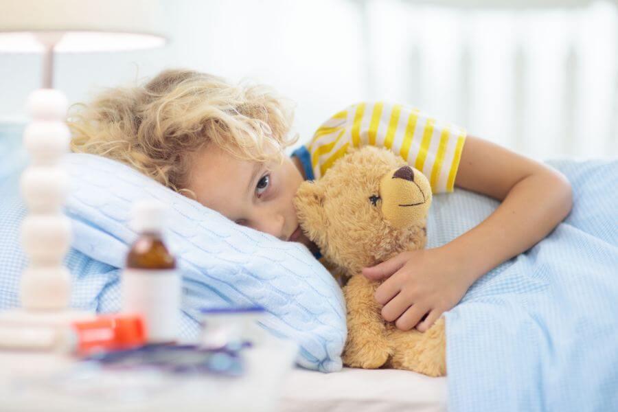 zwymiotowane leki przez dziecko
